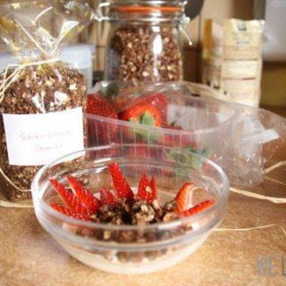 Selbstgebackenes Schoko-Crunch-Granola