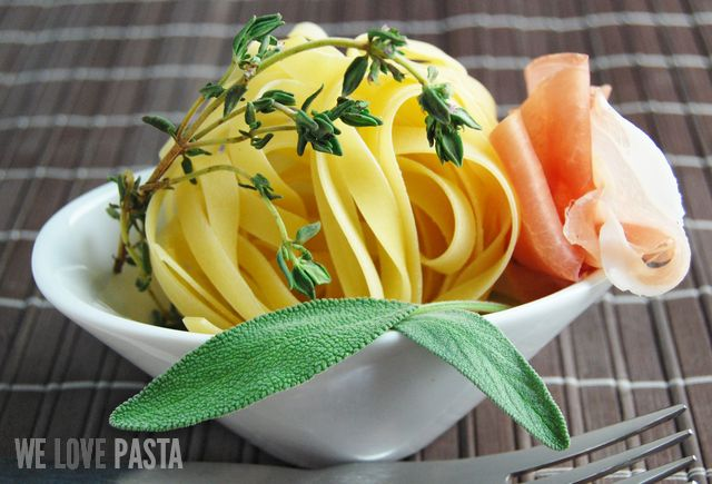 Thymian Salbei Pasta Zutaten