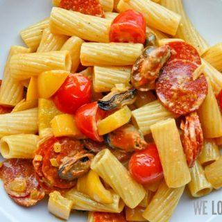 Nachgekocht: Tortiglioni Mediterranea Piccante
