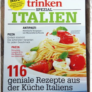 Schnell zum Kiosk: essen & trinken Spezial Italien
