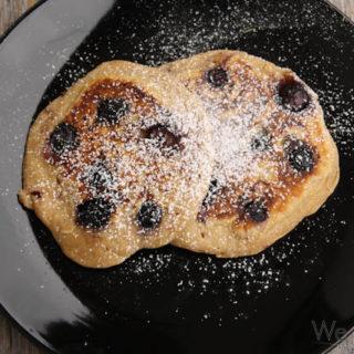 Blaubeer-Mehrkorn-Pancakes