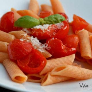 Chili-Penne mit Paprika und halbgetrockneten Tomaten