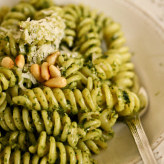 Pesto alla Genovese {gehackt, nicht püriert}