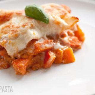 Lasagne vom Curry-Kürbis
