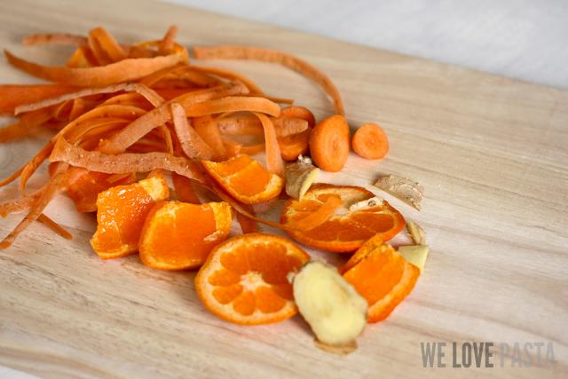 Karotten-Mandarinen-Salat