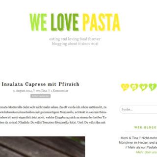 Frisch gestrichen: Das ist neu bei We Love Pasta