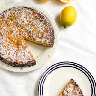 Zitronen-Ricotta-Kuchen oder: der saftigste aller Zitronenkuchen