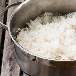 Der perfekte Basmati-Reis // ohne Reiskocher, ohne Schnickschnack