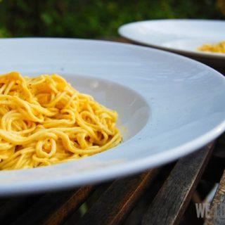 Spaghettini Zafferano