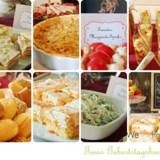 Feste feiern: Tinas Geburtstagsbrunch