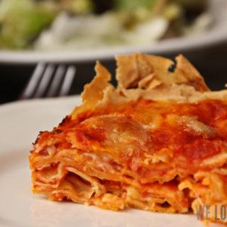 Tomaten-Mozzarella-Lasagne oder auch: Millefeuille von der Pasta