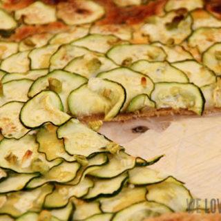 Zucchini-Galette oder: eine kleine Reise durch die Foodblogosphäre