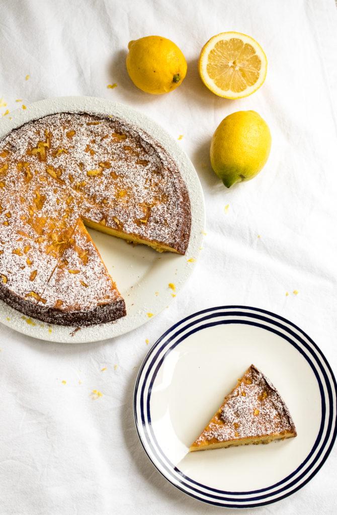 Zitronen Ricotta Kuchen Oder Der Saftigste Aller Zitronenkuchen