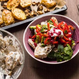 Kartoffelsalat trifft Orient – mal was anderes zu Weihnachten