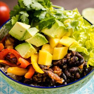 Burrito Bowl // vegan & selbstgemacht!